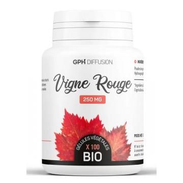 Vigne Rouge Bio 250 mg 200 gélules végétales - GPH Diffusion