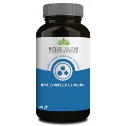 n°41 Complex Ca Mg Mn 60 gélules - Equi nutri