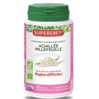 Achillée Millefeuille bio 90 gélules - Super Diet règles douloureuses Aromatic provence