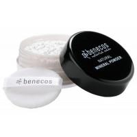 Poudre libre minérale Translucide 10 gr - Benecos peaux grasses Maquillage bio du teint Aromatic provence