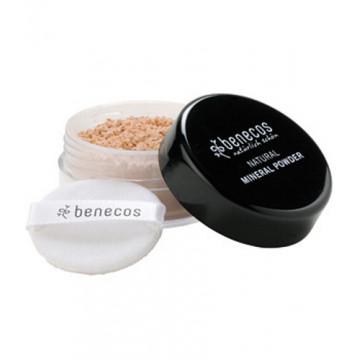 Poudre libre minérale BEIGE MOYEN 10gr - Benecos