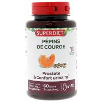 Huile de Pépins de Courge 120 capsules Super Diet confort masculin Aromatic Provence