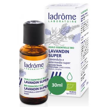 Huile essentielle bio Lavandin x super 30 ml - Ladrôme