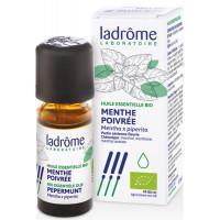 Huile essentielle bio menthe poivrée Ladrôme, menthe poivrée 10 ml ladrome, huiles essentielles Aromatic provence