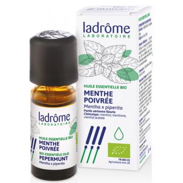 Huile essentielle bio Menthe poivrée 10ml - Ladrôme