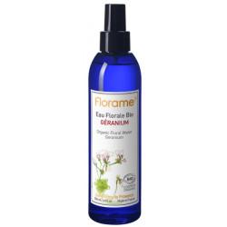 Eau florale Géranium bio 200 ml brumisateur - Florame