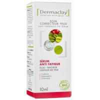 Sérum Correcteur contour des yeux anti-fatigue 10ml - Dermaclay extrait de framboise Aromatic provence