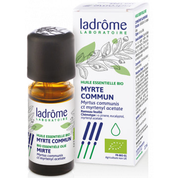 Huile essentielle bio Myrte - Ladrôme