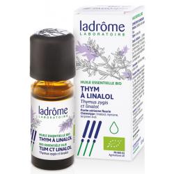 Huile essentielle bio Thym à Linalol - Ladrôme