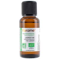 Huile essentielle bio Lavande Fine 30 ml Florame lavande vraie Aromatic provence