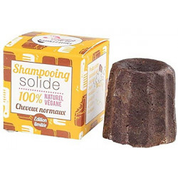 Shampooing solide Cheveux normaux chocolat 55g - Lamazuna