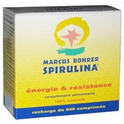 Spiruline Cure de 3 mois recharge 540 comprimés Marcus Rohrer