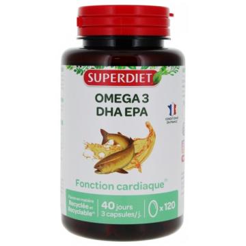 Omega 3 - 120 capsules - Super Diet