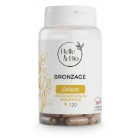 Bronzage naturel Bixa Carotte Bourrache 120 gélules - Belle et Bio caroténoides antioxydants Aromatic provence