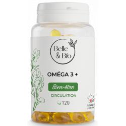 Oméga 3 à 65% 120 capsules - Belle et bio