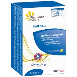 Oméga 3 - 60 capsules - Fleurance Nature
