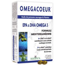 Omegacoeur EPA DHA 60 capsules - Holistica