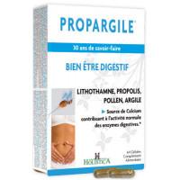 Propargile 64 gélules végétales Holistica, argile propolis pollen lithothamne aromatic provence
