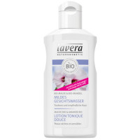 Lotion Tonique Douce FACES Amande et Mauve 125 ml - Lavera lait démaquillant Aromatic provence