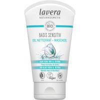Gel nettoyant visage Basis Lavera, gel nettoyant 125 ml lavera, lavera gel 125 ml peaux grasses, Aromatic provence