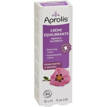 Crème Equilibrante Propolis Calendula bio 50ml  - Aprolis