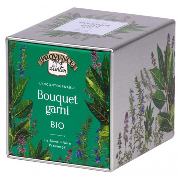 Bouquet garni bio coffret métal 16g - Provence d'Antan