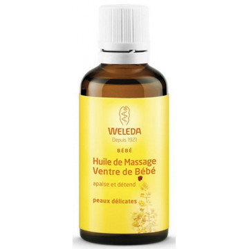 Huile de massage Ventre de bébé 50 ml - Weleda