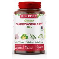 Quatuor  Ail Olivier Tilleul Aubépine bio 150 gélules - Super Diet Aromatic provence