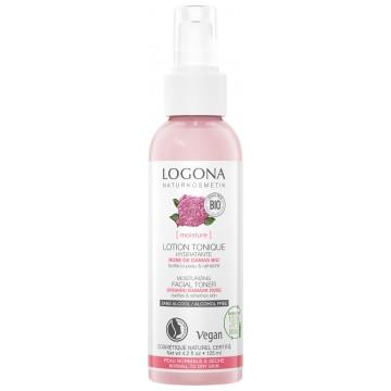 Lotion tonique hydratante rose de Damas bio et Daymoist 125ml - Logona