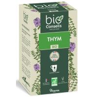infusion Thym Bio France 20 sachets - Bio Conseils voies respiratoires pureté Aromatic provence