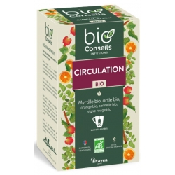 Infusion Circulation Bio 20 sachets - Bio Conseils