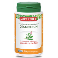 Desmodium Adscendens 90 gélules - Super Diet fonctionnement hépatique Aromatic provence