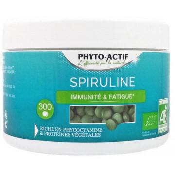 Spiruline bio 300 comprimés Phyto-actif