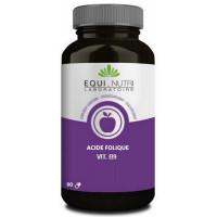 Vitamine B9 acide folique 90 gélules - Equi Nutri énergie synthèse cellulaire maternité Aromatic provence