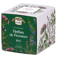 Herbes de provence bio recharge carton 50g - Provence d'Antan - Aromatic Provence