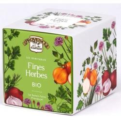 Fines Herbes bio recharge carton 30g - Provence d'Antan