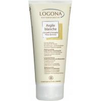 Argile blanche gel prêt à l'emploi Fleur de Lotus cheveux et corps 200ml - Logona sans agent lavant Aromatic provence