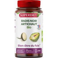 Radis Noir et Artichaut gélules d origine marine Bio Super Diet, foie Aromatic provence