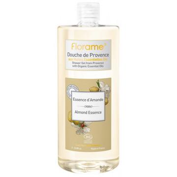 Gel Douche de Provence Essence d'Amande 1 litre - Florame