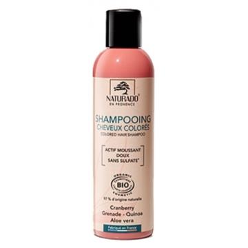 Shampoing cheveux colorés sans sulfate 200 ml - Naturado