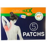 Patchs boîte de 5 patchs - Curcumaxx Biocible 1002mg de curcuminoides usage externe Aromatic provence