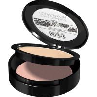 Fond de teint compact 2en1  Ivoire 01 10gr - Lavera maquillage bio et minéral Aromatic provence