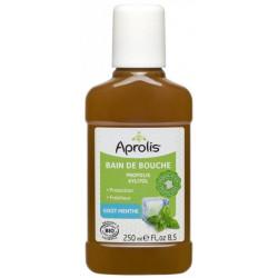 Bain de bouche Propolis et Xylitol goût Menthe 250ml - Aprolis
