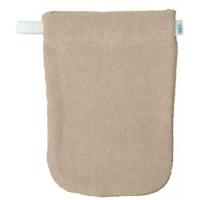 1 gant de toilette en coton biologique écru x1 - Popolini Aromatic provence