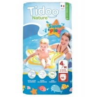 12 Couches de Bain (T4/M) 8/15kg x12 - Tidoo Aromatic provence