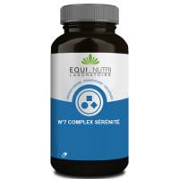 No 7 Complexe sérénité 90 gélules végétales - Equi Nutri équilibre nerveux Aromatic provence