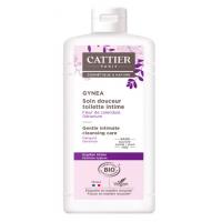 Gel Douceur hygiène toilette intime bio Gynea 200ml - Cattier sans savon Aromatic provence