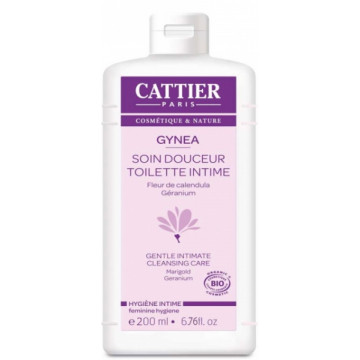 Gel Douceur toilette intime bio Gynea 200ml - Cattier