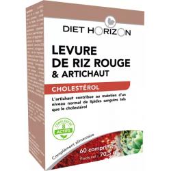 Levure de Riz rouge 60 comprimés - Diet Horizon
