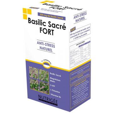 Basilic Sacré fort Anti stress naturel 30 comprimés - Nutrigee